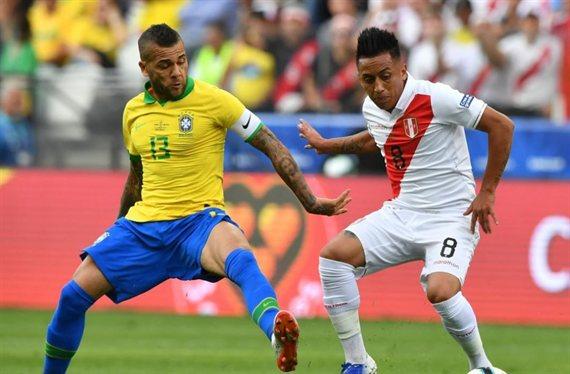 Brasil y Perú definen al campeón de la Copa América