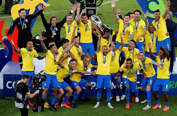 Con polémica, Brasil venció a Perú y se coronó campeón de la Copa América