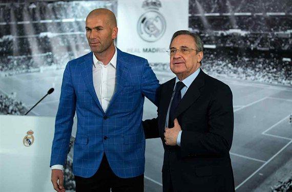 Zidane se la juega a un crack de Florentino Pérez