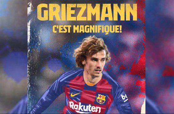 Barcelona anunció a Griezmann y tendrá una cláusula mayor que la de Messi