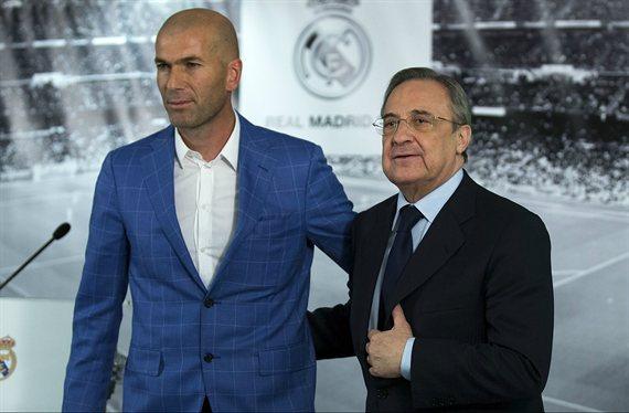 Florentino Pérez paraliza una salida cantada por orden de Zidane