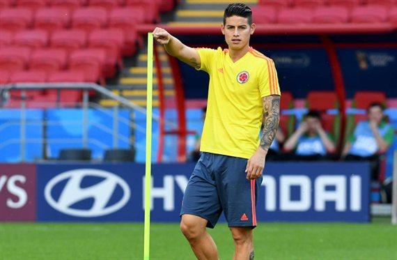 Las condiciones (y son dos) para que James Rodríguez fiche por el Atlético