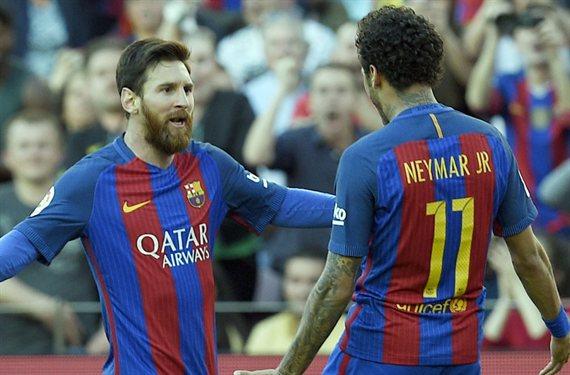 La jugarreta de Neymar a Messi de la que todo el Barça habla