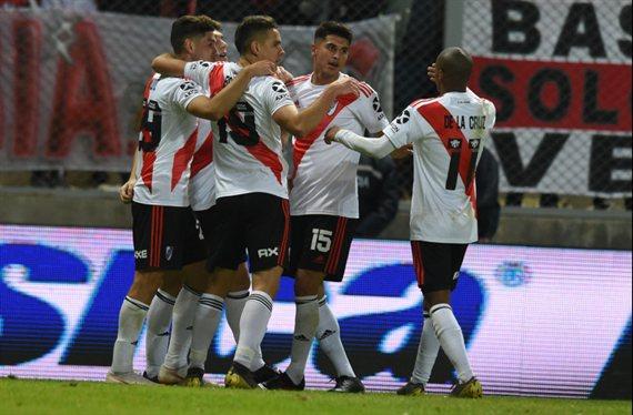 River venció por penales a Gimnasia de Mendoza y sigue en la Copa Argentina