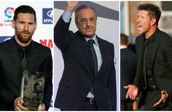 Un objetivo de Messi, Simeone y Florentino Pérez podía tener destino bomba