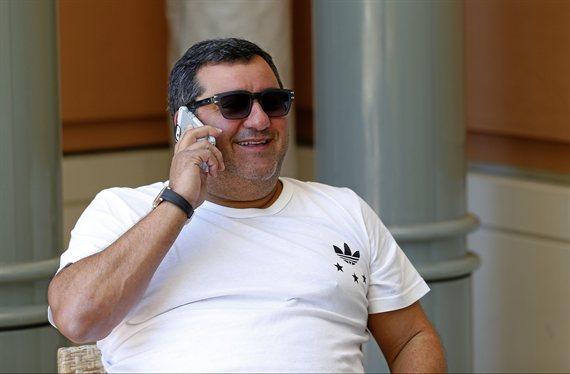 Mino Raiola ofrece a un galáctico al Real Madrid para completar el tridente