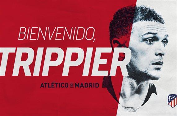 Nuevo defensor para Simeone: Atlético de Madrid anunció a Kieran Trippier