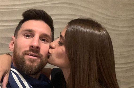 ¡Cazados! La foto más caliente (y húmeda) de Antonela Roccuzzo y Leo Messi