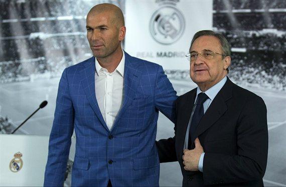 La primera enganchada de Zidane con Florentino Pérez: no lo quiere