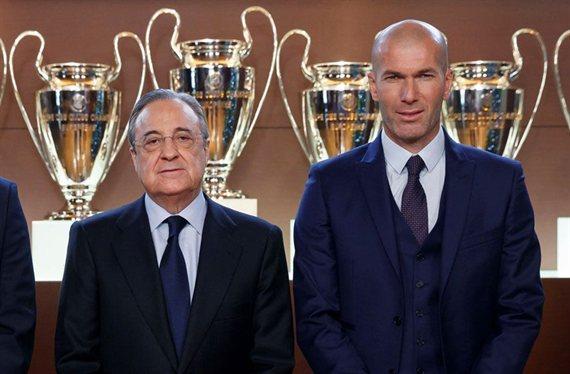 Florentino Pérez elimina al mimado de Zidane del Real Madrid