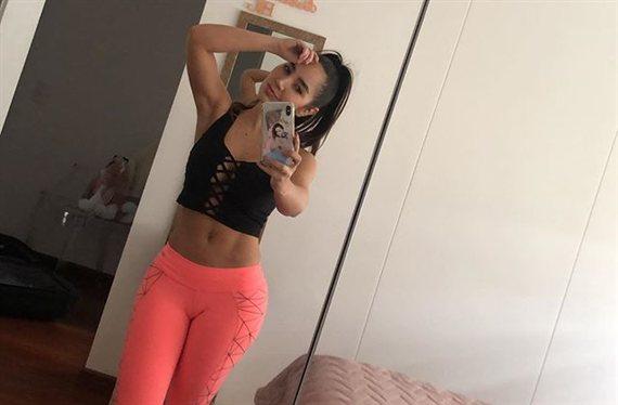 """El ejercicio que le gusta a Paola Jara: ¡cómo botan! """"Mamasita"""""""