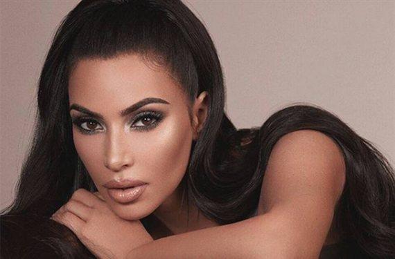 """""""¡No me lo creo!"""" Y es Kim Kardashian sin maquillar"""