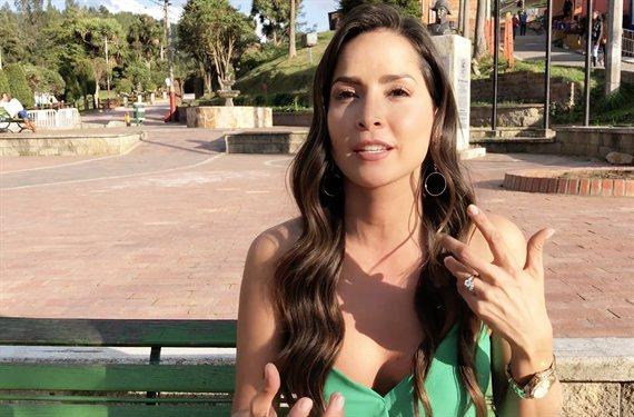 El video de Carmen Villalobos en la piscina que suma likes sin parar
