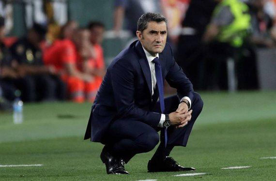 Ernesto Valverde paraliza una salida cantada en el Barça