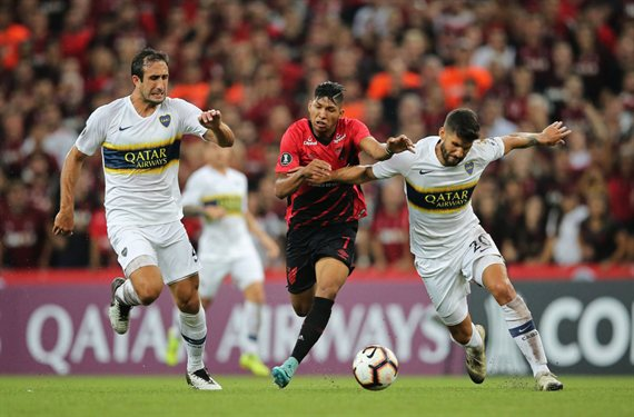 Boca visita al Atlético Paranaense y abre la serie de octavos de final