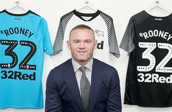 Oficial: Wayne Rooney será futbolista y entrenador del Derby County en 2020