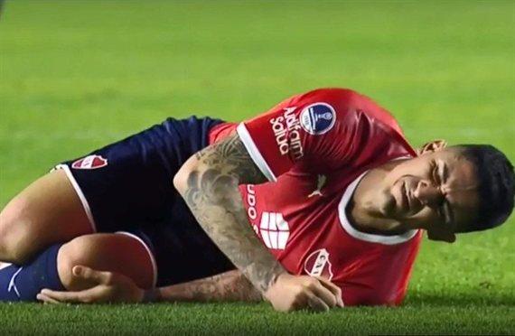 La peor noticia: Pablo Hernández sufrió la rotura de ligamentos