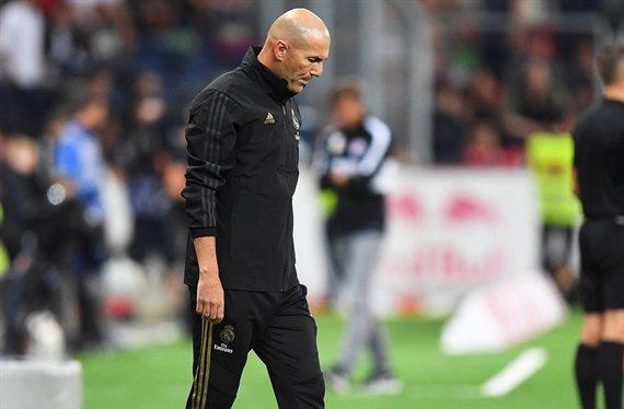 Zidane se olvida de un galáctico y se centra en otro crack para el Madrid