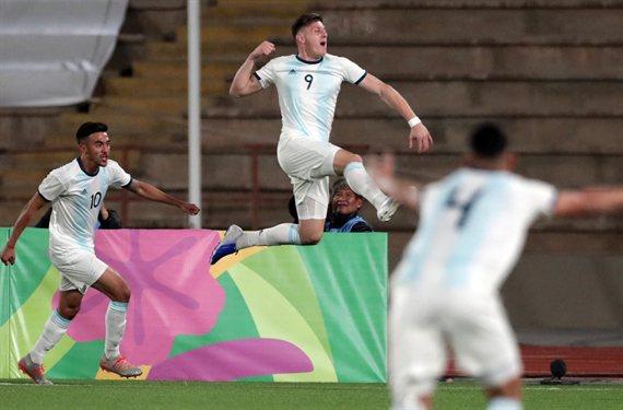 Adolfo Gaich, el goleador de las juveniles de Argentina que iría a la Lazio