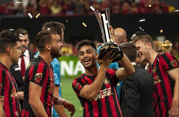 El Atlanta United del Pity Martínez le ganó la Campeones Cup al América