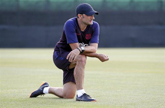 Ernesto Valverde se carga a un titular del Barça (y ojo al nombre)