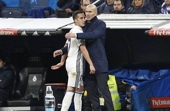 Zidane frena una salida cantada en el Real Madrid (y no es Lucas Vázquez)