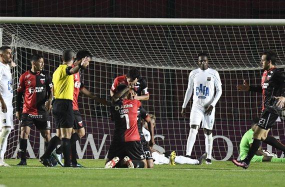 El último antecedente de Colón en la semifinal de un torneo internacional