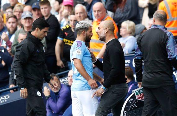 La pelea entre Agüero y Guardiola protagonizó el Manchester City-Tottenham