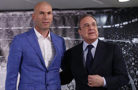 """""""Que se vaya"""". Zidane no lo quiere: Y hay lío gordo con Florentino Pérez"""