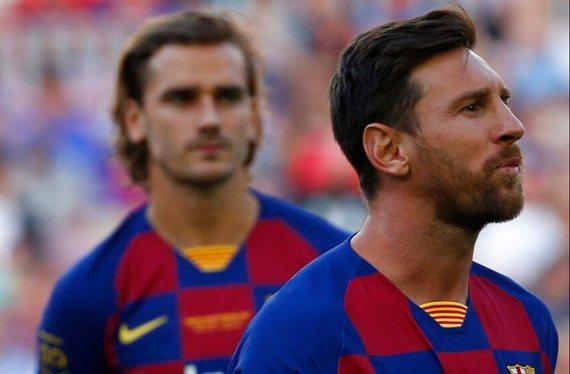 Messi contesta a Griezmann (y Valverde alucina con el argentino)