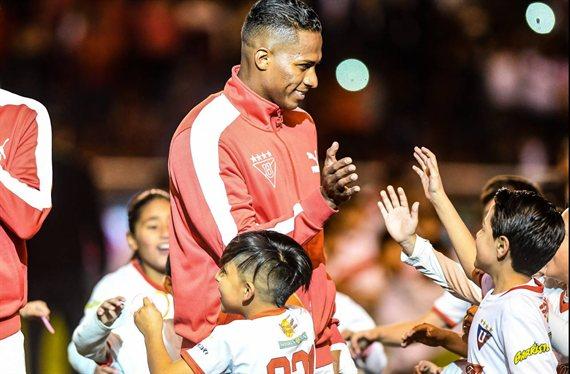 Boca: Valencia, de capitán del Manchester United a ídolo en Liga de Quito