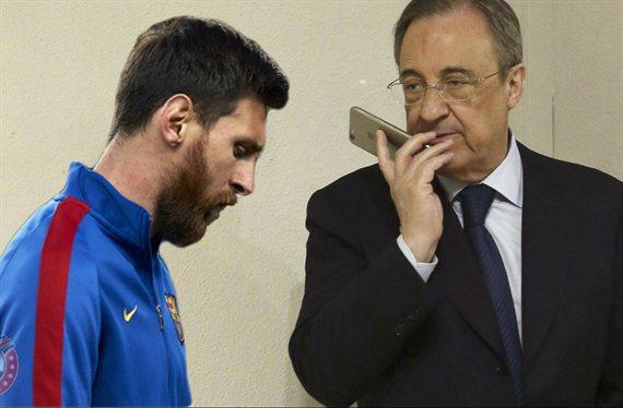 Messi y Florentino Pérez pelean por la nueva joya de España