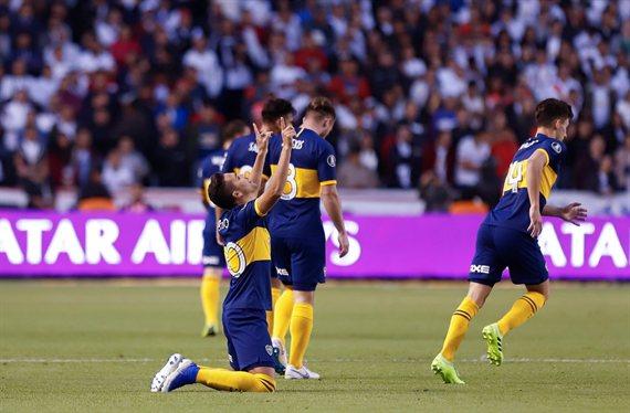 A la altura: Boca le ganó 3-0 a Liga de Quito y se acerca a las semifinales