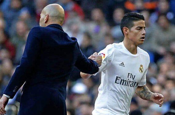 James vuelve al Bernabéu para jugar de blanco