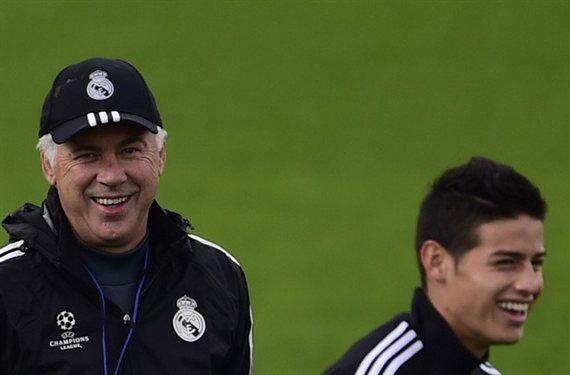 Ancelotti cierra las puertas definitivamente a James Rodríguez