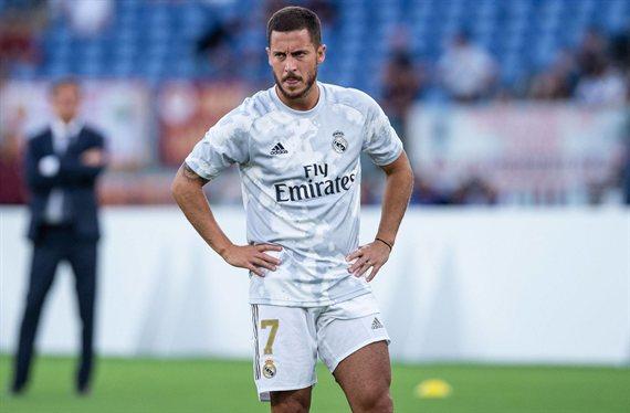 ¡Hay lío con Hazard! La última hora (y no es nada buena) en el Real Madrid