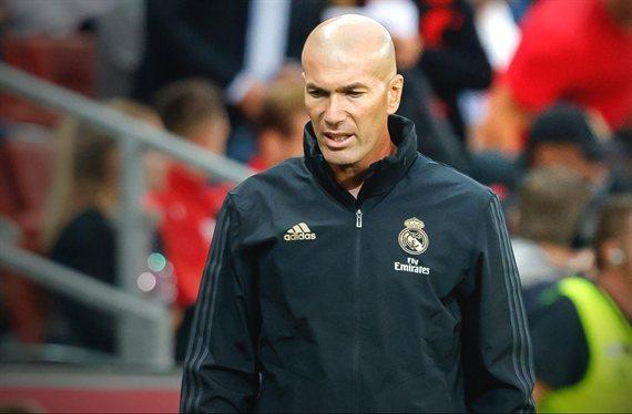 La pelea de Zidane con un peso pesado que incendia el vestuario