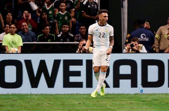 La Selección Argentina goleó a México con un triplete de Lautaro Martínez