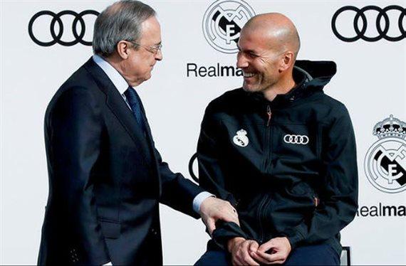 Zidane no lo puede ni ver. Y Florentino Pérez lo tiene cerrado