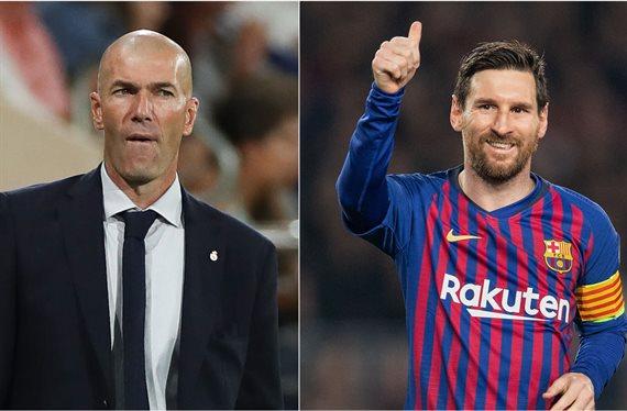 La oferta increíble que reuniría a Messi y Zidane en el mismo club