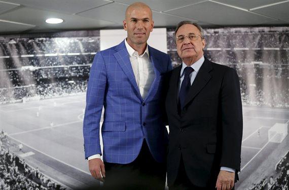 Zidane no lo quiere en el Real Madrid y Florentino Pérez lo tiene fichado
