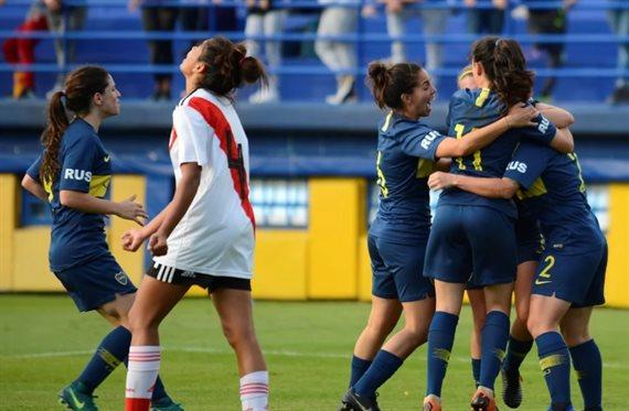 El Torneo de Primera División femenino comenzará con el Superclásico