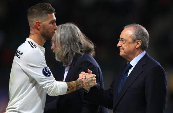 La pelea de Sergio Ramos con Florentino Pérez que incendia el Real Madrid