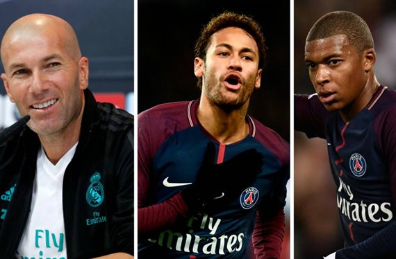Zidane cambia a Mbappé y Neymar por un galáctico que Messi pide al Barça