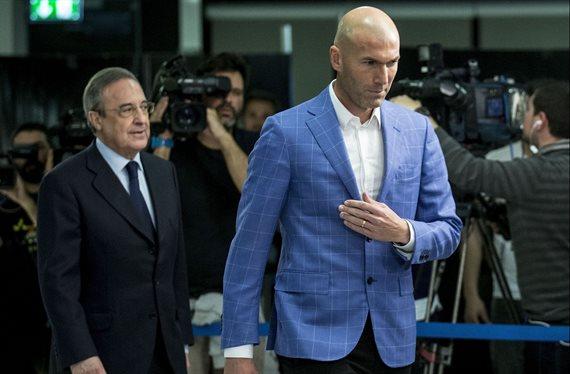"""Florentino Pérez dinamita el plan de Zidane: """"Juega él y 10 más"""""""