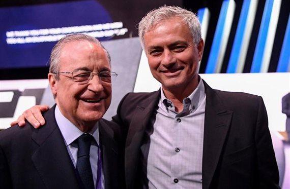 ¡ATENCIÓN! José Mourinho está hoy en Madrid esperando a lo que pueda pasar