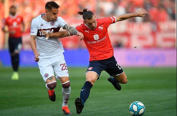 Lanús remontó el resultado e iguala 2-2 con Independiente en Avellaneda