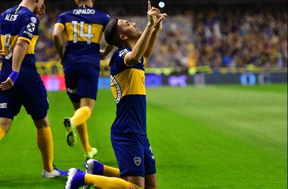 Boca derrotó 1-0 a Estudiantes y es el nuevo líder de la Superliga