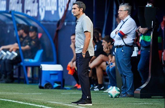 Ernesto Valverde corta otra cabeza: 'No jugará en Dortmund'