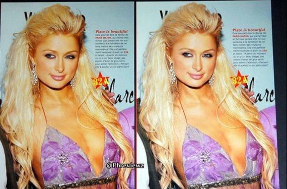 Paris Hilton se corta el vestido para que ¡veas todo lo que hay debajo!